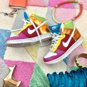 Nike Metallic Rainbow 🌈 Dunks